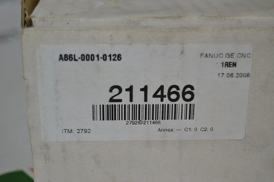 FANUC 0-M Operator Panel Keyboard A86L-0001-0126 *New in Box*