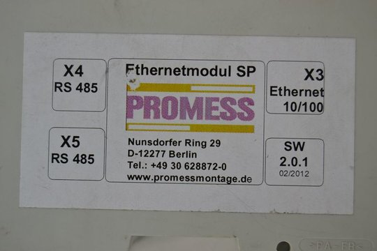 PROMESS Ethernetmodul SP