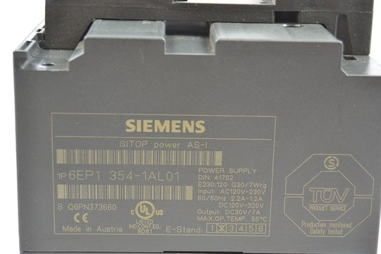 SIEMENS SITOP Power AS-I Stromversorgung 6EP1354-1AL01