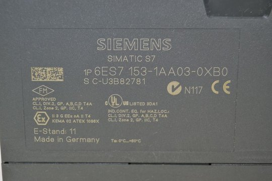 SIEMENS SIMATIC S7 Interface-Module 6ES7153-1AA03-0XB0