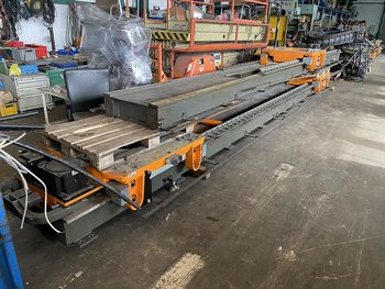 KUKA KRC2 Linear-Achse 7.Achse 16m with 3 Robot-Slots...