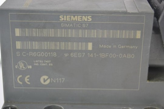 SIEMENS SIMATIC S7 Distributed-Periphery 6ES7141-1BF00-0AB0