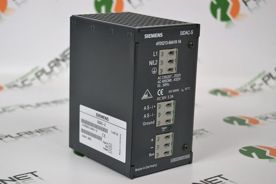SIEMENS SIDAC-S Stromversorgung | Power Supply AS-Interface 4FD5213-0AA10-1A