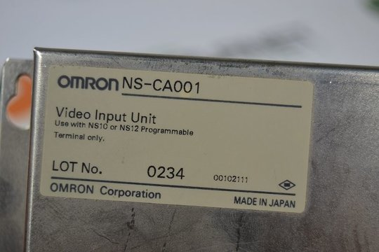 OMRON Video Input Unit NS-CA001