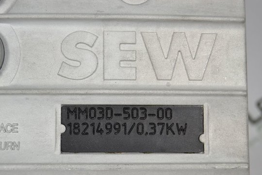 SEW Eurodrive MOVIMOT Feldverteiler 0,37kW MQP32D/MM03D-503-00/Z27F 0