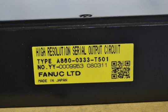 FANUC High Resolution Serial Output Circuit A860-0333-T501