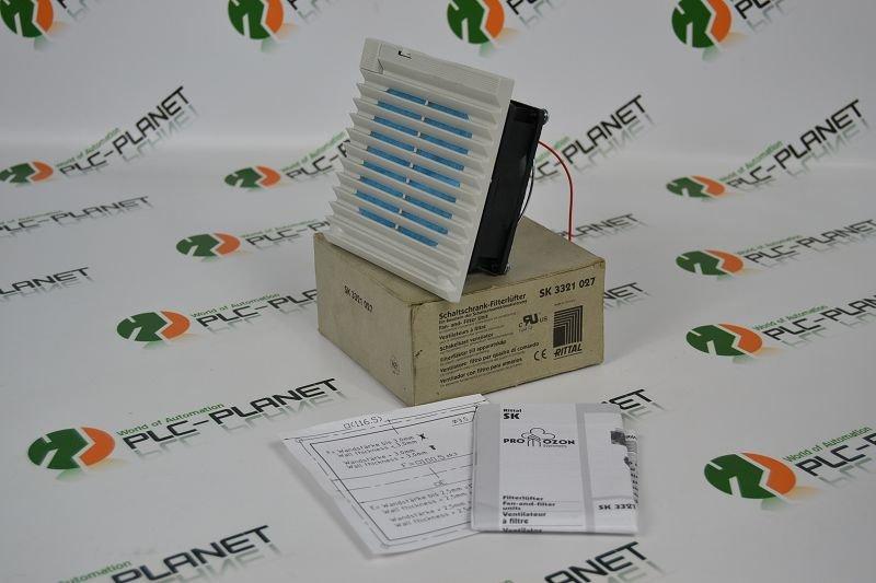 RITTAL Schaltschrank-Filterlüfter SK 3321 027 SK3321027, 41,18 &