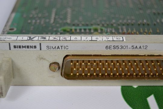SIEMENS SIMATIC S5 Interface Module 6ES5301-5AA12 6ES5 301-5AA12