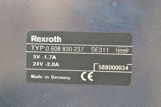 BOSCH REXROTH Tightening Controlboard 0 608 830 237 / 0608830237 SE311