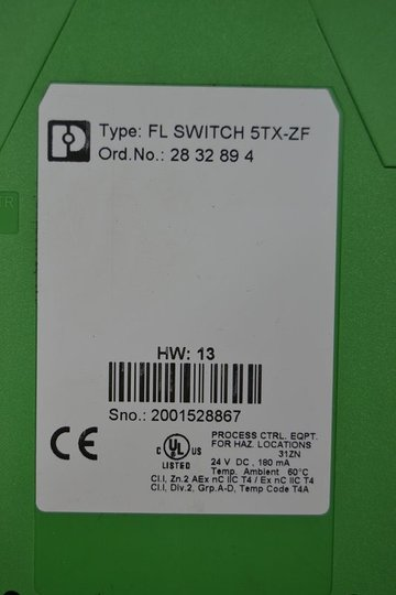 PHOENIX CONTACT FL SWITCH 5TX-ZF (2832894)