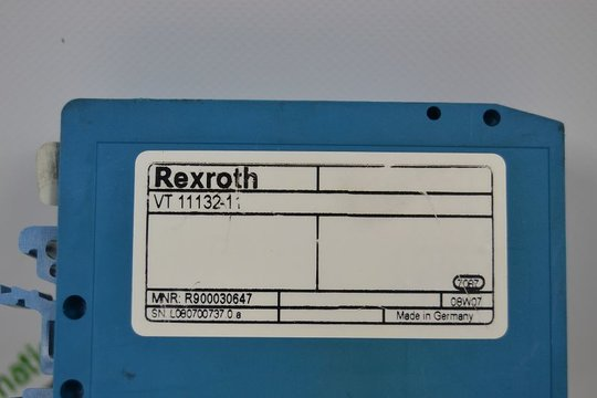 BOSCH REXROTH Electrical amplifier VT 11132-11 R900030647...